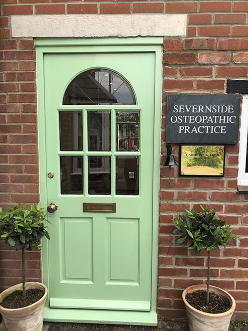 Severnside Osteopaths Front Door